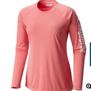 Columbia 50 UPF Long Sleeve PFG shirt